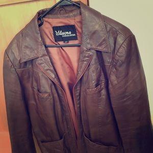 Vintage Wilson's Aviator Suede & Leather Jacket